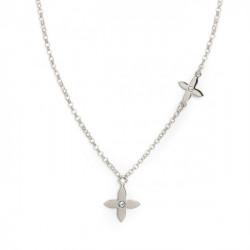 Silver Necklace Vega