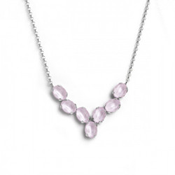 Silver Necklace Anelle