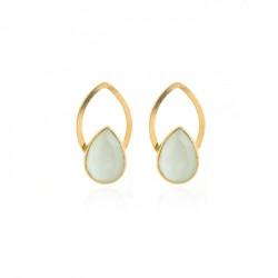 Gold Earrings Carmen
