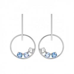 Silver Earrings bar Elise
