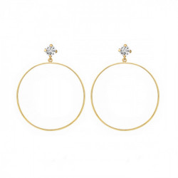 Gold Earrings Hoop