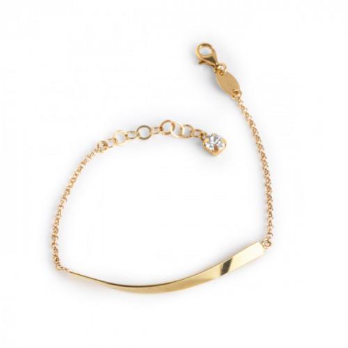Jazz Bracelet Crystal - Gold