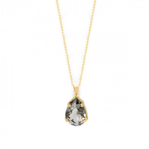 Gold Louis Necklace Diamond