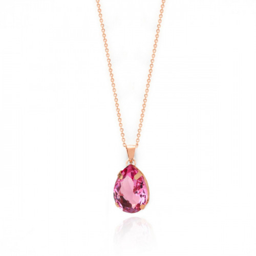 Rose Gold Louis Necklace Rose