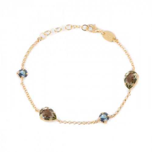 Gold Louis Bracelet Diamond