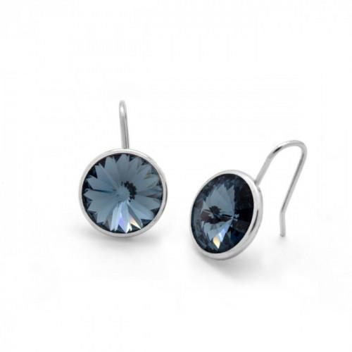 Silver Earrings Basic hook M