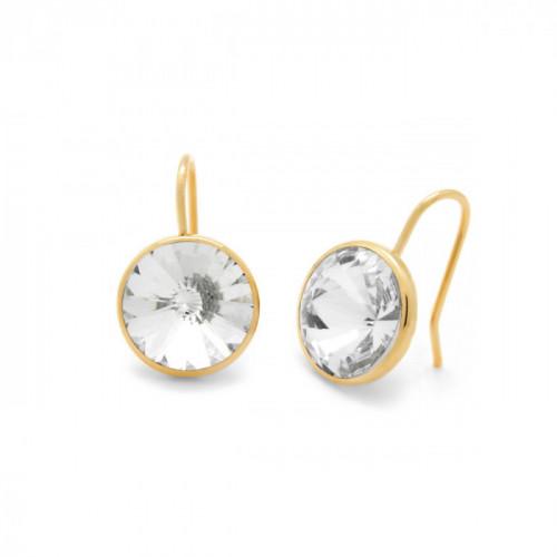 Gold Earrings Basic hook M