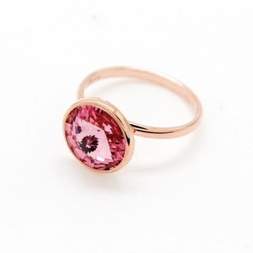 Pink Gold Ring Basic M