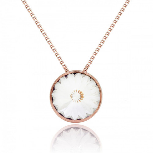 Pink Gold Necklace Basic M