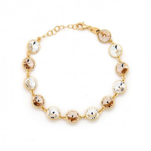 Gold Round Bracelet