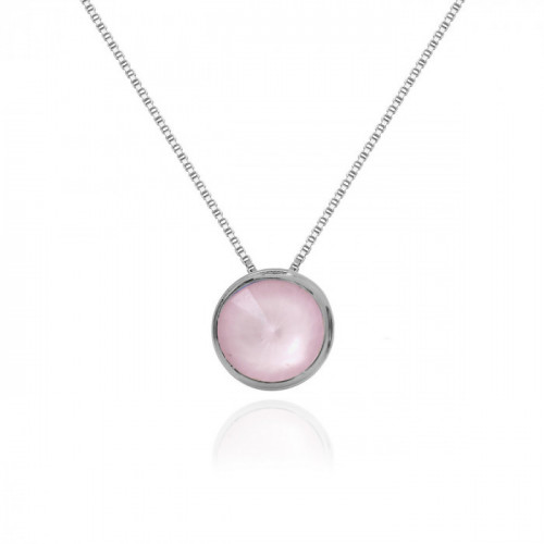 Silver Necklace Basic S
