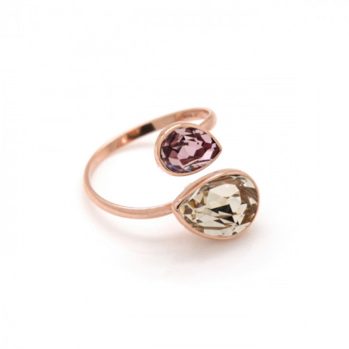 Pink Gold Ring Essential double