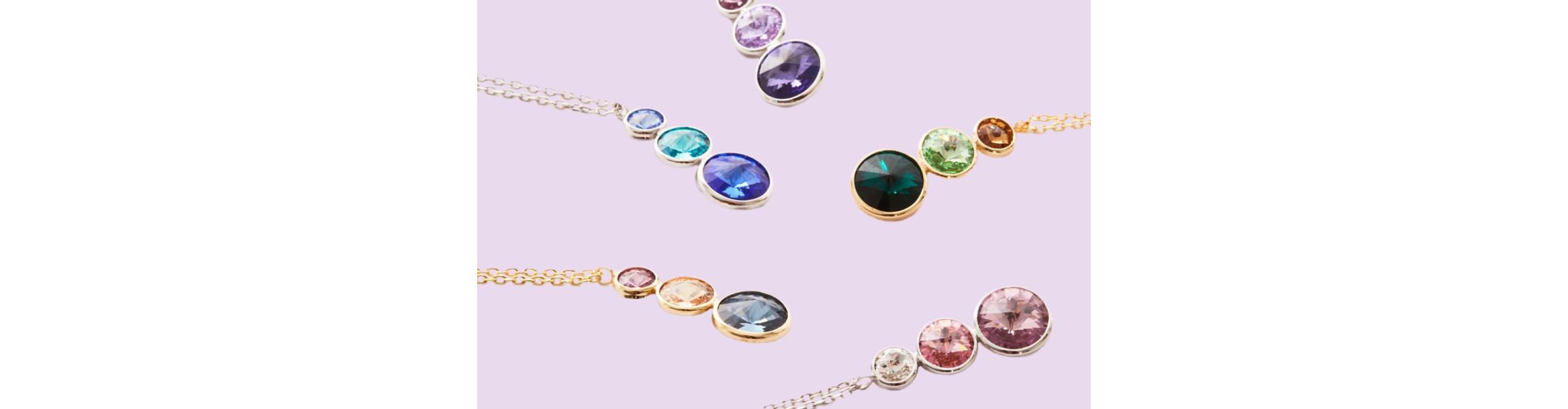 Collares Victoria Cruz | Plata de Ley 925 Cristales de Swarovski